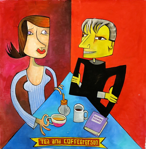 tea and coffeeperson
